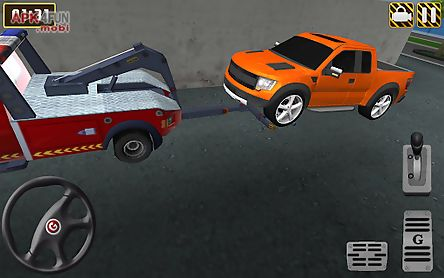 3d tow truck parking extended