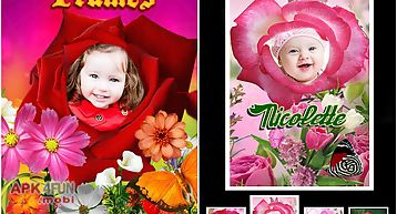 Photo flower frames