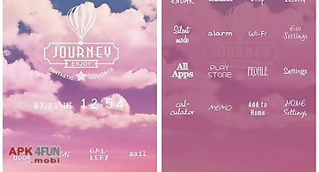 Cute theme-pink clouds-