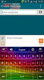 keyboard color theme