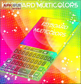 keyboard multicolors