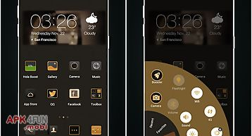 The jazz age launcher theme