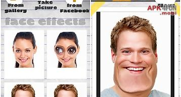 Funny face effects