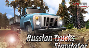 Russian trucks offroad 3d