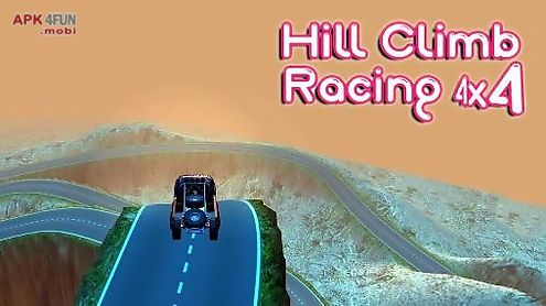 hill climb racing 4x4: rivals game