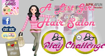 A-list girl ★ hair salon