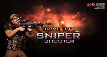 Crime city: sniper shooter