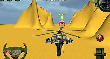 Military helicopter flight sim