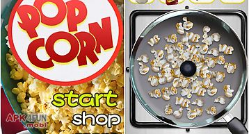 Popcorn maker-cooking game