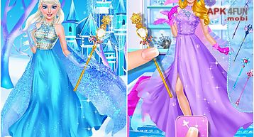 Ice queen royal palace salon
