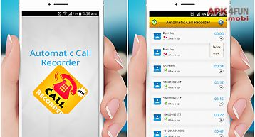 Automatic call recorder - free