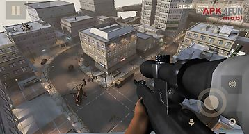 City sniper shooting 3d