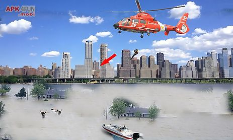 army helicopter flood rescue