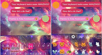 Panda kika keyboard theme for Android free download from Apk