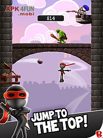 ninjump dlx: endless ninja fun