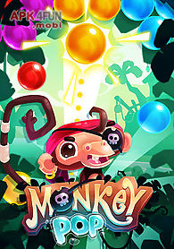 monkey pop: bubble game