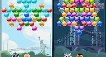 Bubble shooter city
