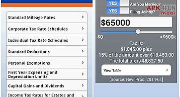 Bna quick tax reference