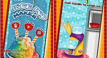 Ice pop maker - cooking game