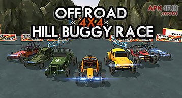 Off road 4x4 hill buggy race