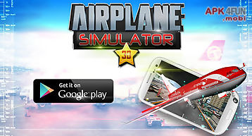 3d airplane simulator