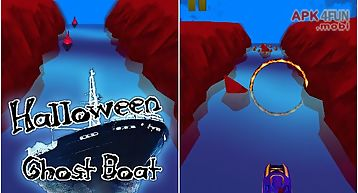Ghost boat: halloween night
