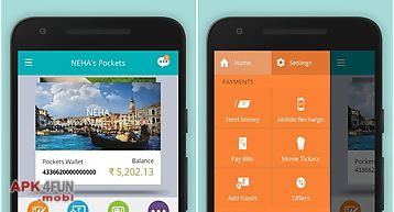 Pockets–wallet with card & upi