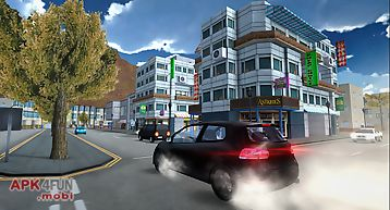 Extreme urban racing simulator
