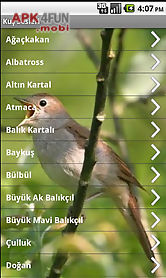Bird sounds for Android free download from Apk 4Free market