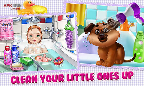baby & puppy - care & dress up
