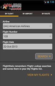 Flightstats for Android free download from Apk 4Free market