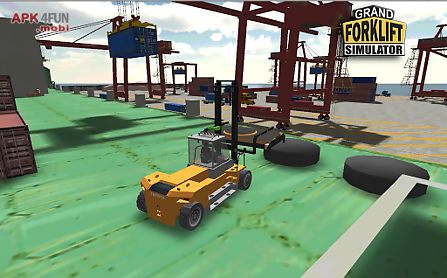 grand forklift simulator