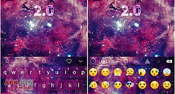 Emoji keyboard-galaxy 2
