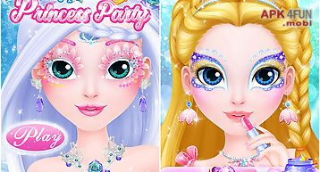 Makeup salon: princess party