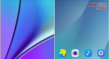 Note 5 launcher theme