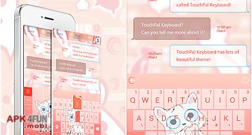 Touchpal i am yogurt theme