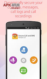 Hide sms and call recorder for Android free download from