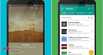 Pixel, music & podcast player
