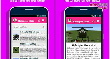 Helicopter mods for mcpe