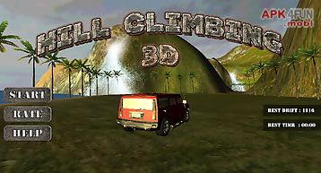 Hill climb 3d - car racing