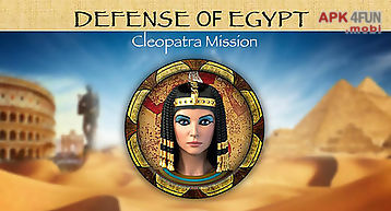 Defense of egypt: cleopatra miss..