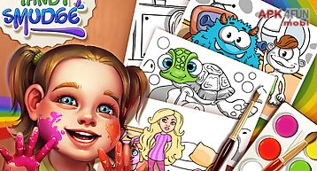 Brush & smudge - coloring book