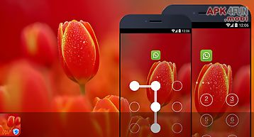 Applock theme - tulip theme