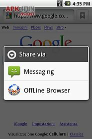 Offline browser for Android free download from Apk 4Free