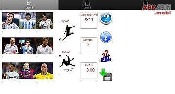 Soccer quizz trial