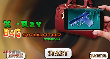 X-ray bag simulator prank