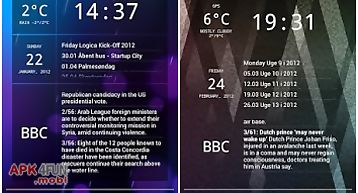 Glass widgets ics