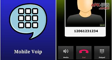 Mobile voip phone, save money!