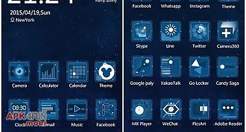 Ray theme - zero launcher