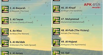Al-quran gratis  114 surah mp3 for Android free download